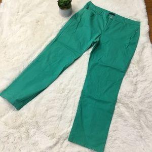 Bandolino Samantha Green Jeans Sz 18 Straight